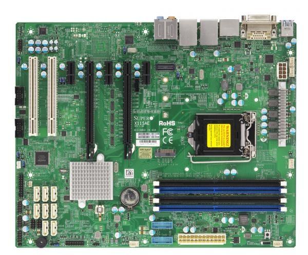 Supermicro Motherboard Xeon Boards X11SAE