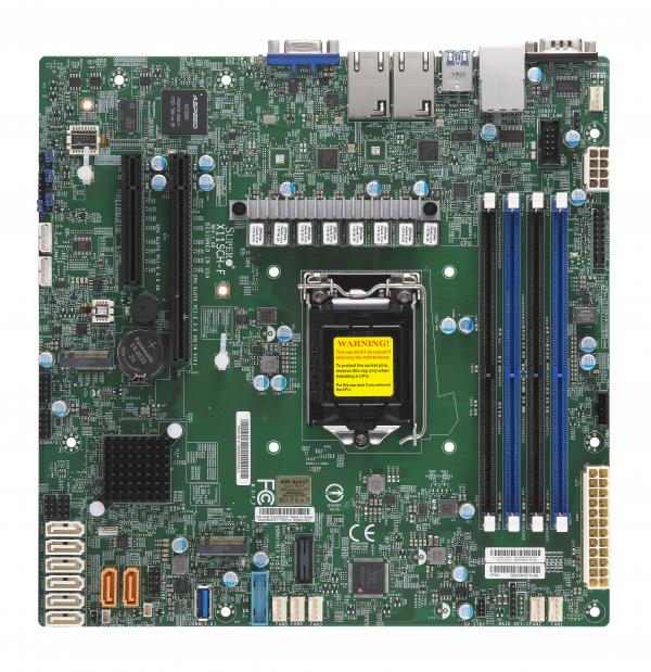 Supermicro Motherboard Xeon Boards X11SCH-F