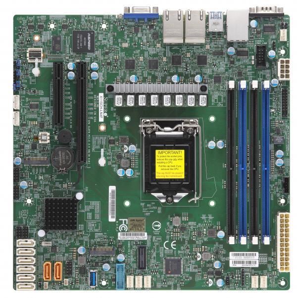 Supermicro Motherboard Xeon Boards X11SCH-LN4F
