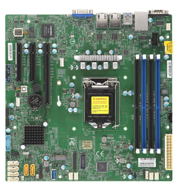 Supermicro Motherboard Xeon Boards X11SCL-F
