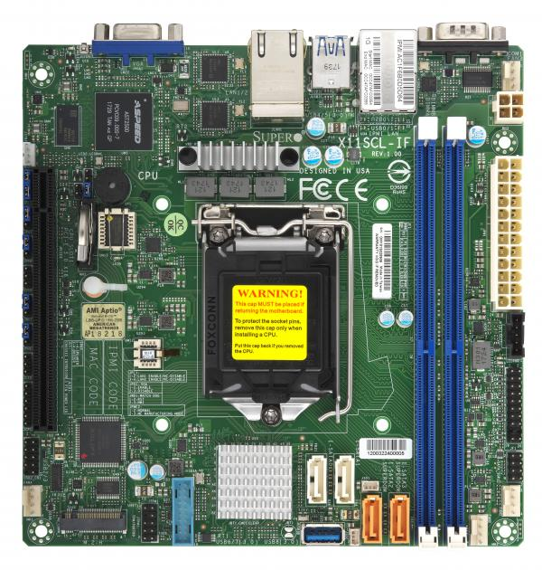 Supermicro Motherboard Xeon Boards X11SCL-IF