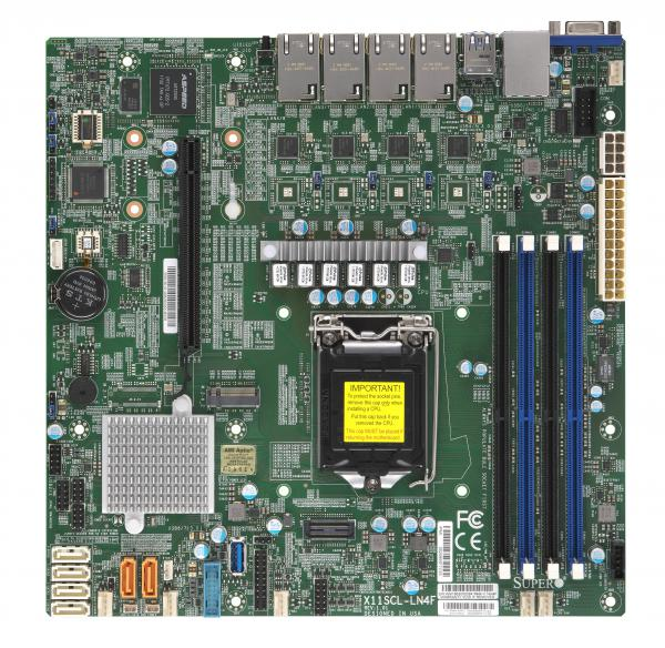 Supermicro Motherboard Xeon Boards X11SCL-LN4F