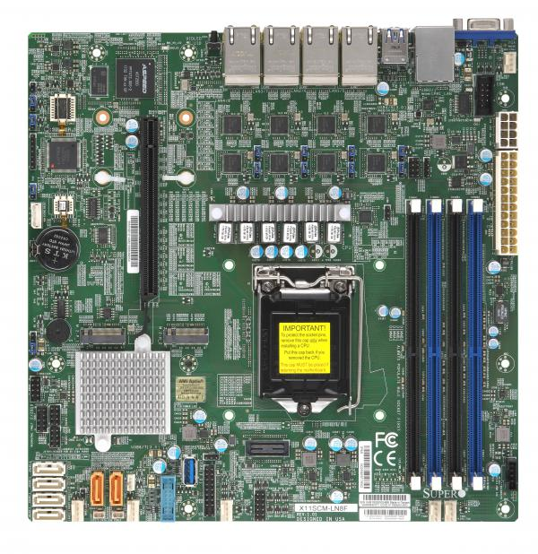 Supermicro Motherboard Xeon Boards X11SCM-LN8F