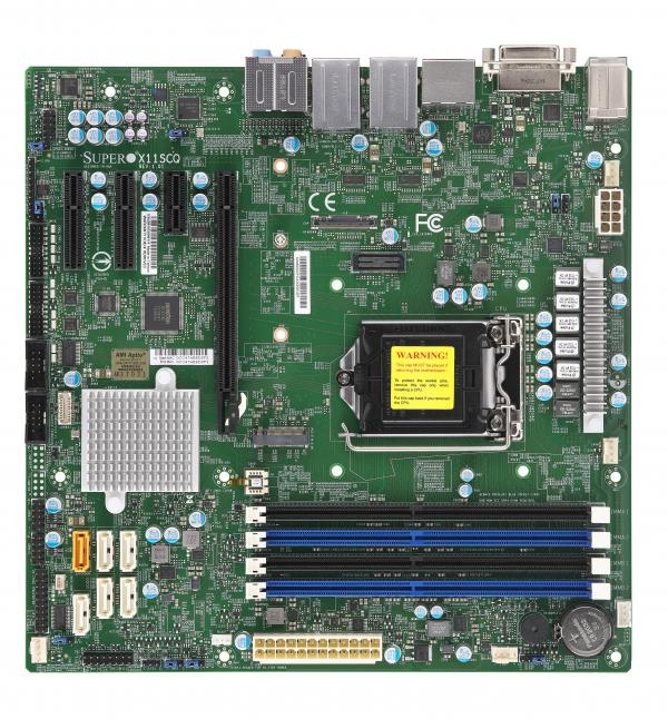 Supermicro Motherboard Xeon Boards X11SCQ