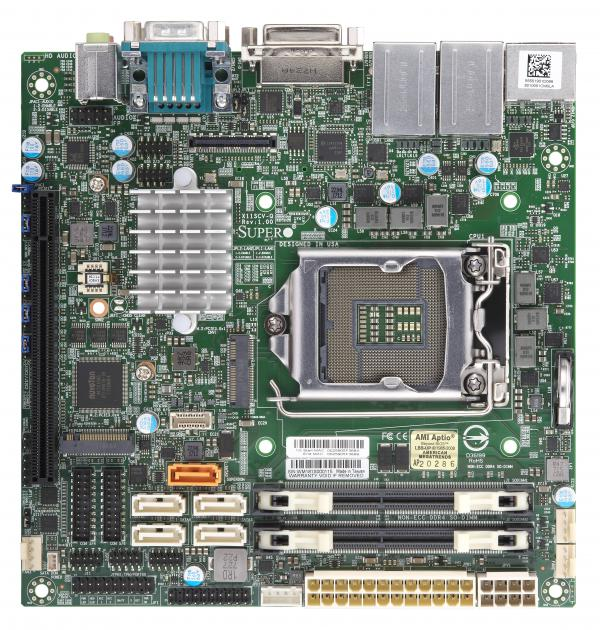 Supermicro Motherboard Xeon Boards X11SCV-Q