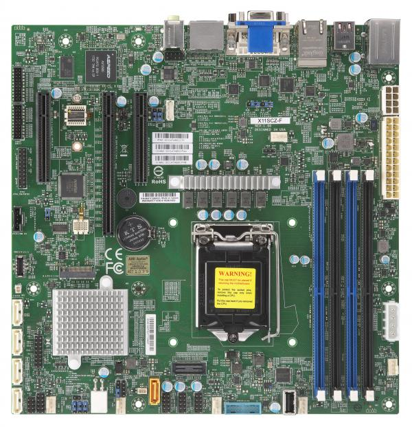 Supermicro Motherboard Xeon Boards X11SCZ-F