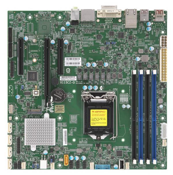 Supermicro Motherboard Xeon Boards X11SCZ-Q