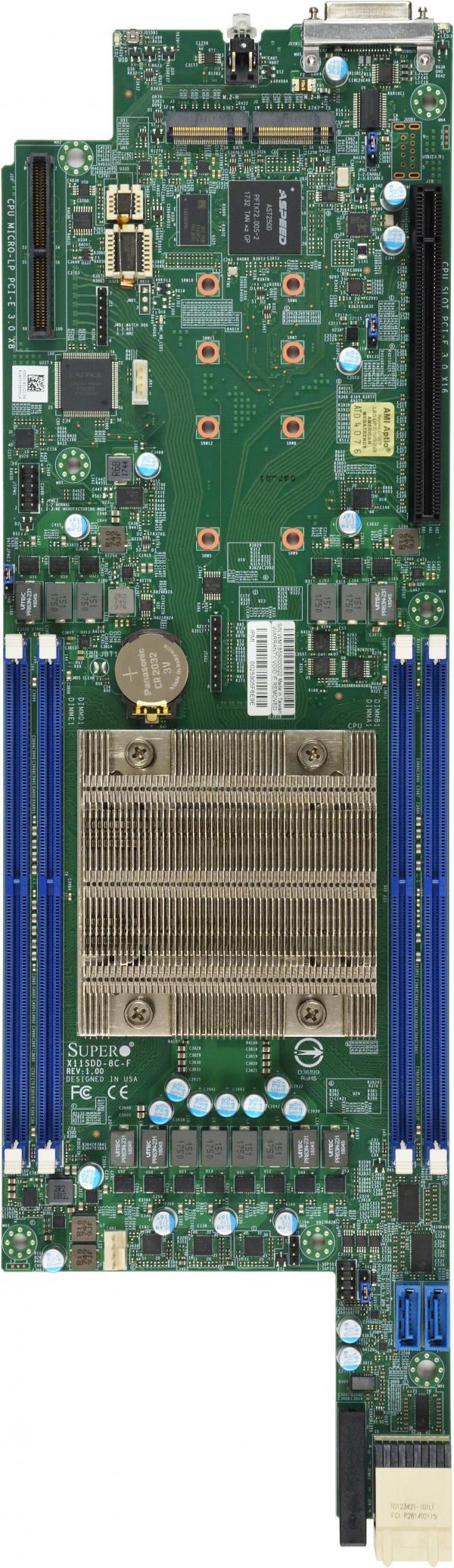 Supermicro Motherboard Xeon Boards X11SDD-8C-F