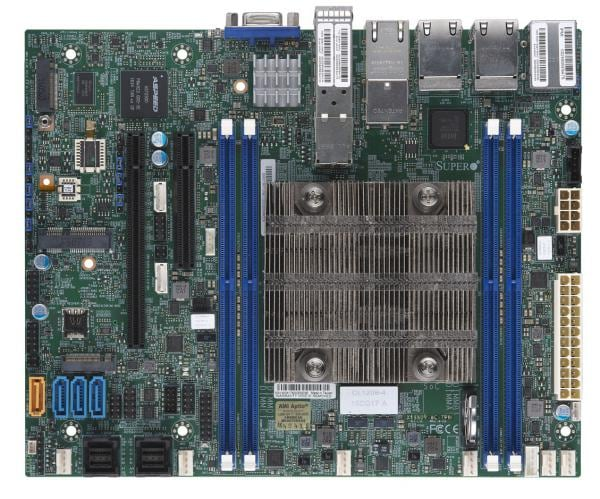 Supermicro Motherboard Xeon Boards X11SDV-8C-TP8F