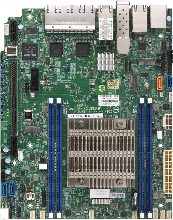 Supermicro Motherboard Xeon Boards X11SDW-14CNT-TP13F