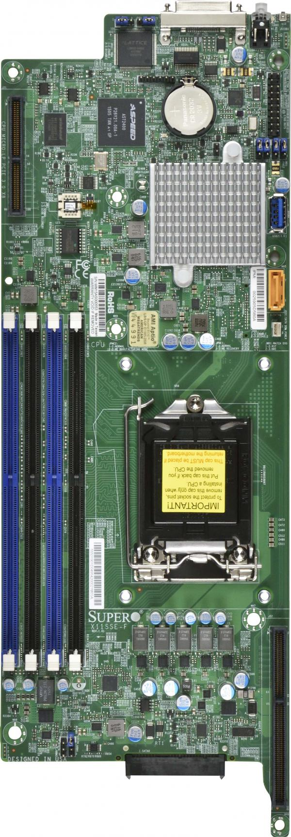Supermicro Motherboard Xeon Boards X11SSE-F