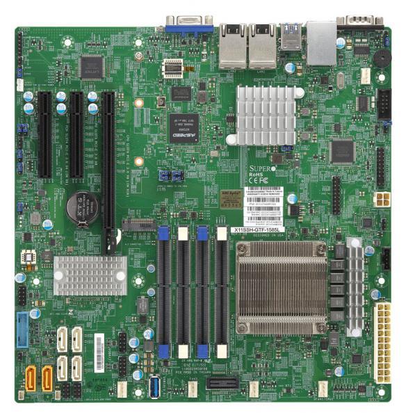 Supermicro Motherboard Xeon Boards X11SSH-GTF-1585L