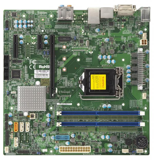 Supermicro Motherboard Xeon Boards X11SSQ-L