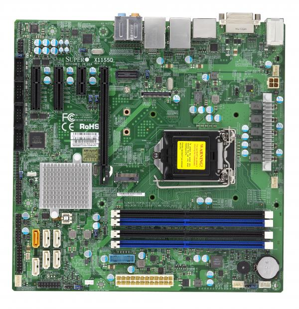Supermicro Motherboard Xeon Boards X11SSQ