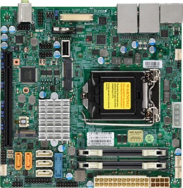 Supermicro Motherboard Xeon Boards X11SSV-LVDS