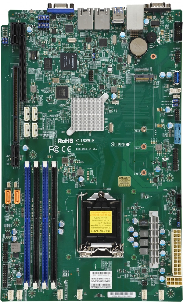 Supermicro Motherboard Xeon Boards X11SSW-F