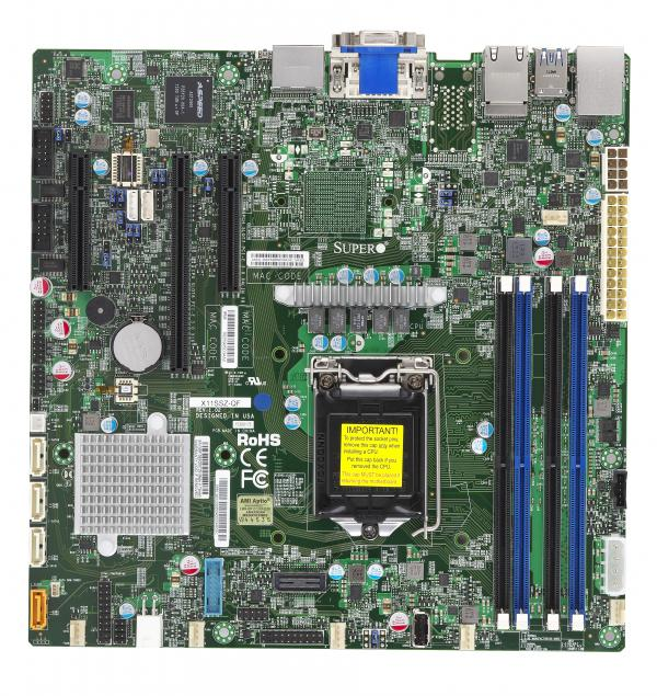Supermicro Motherboard Xeon Boards X11SSZ-QF