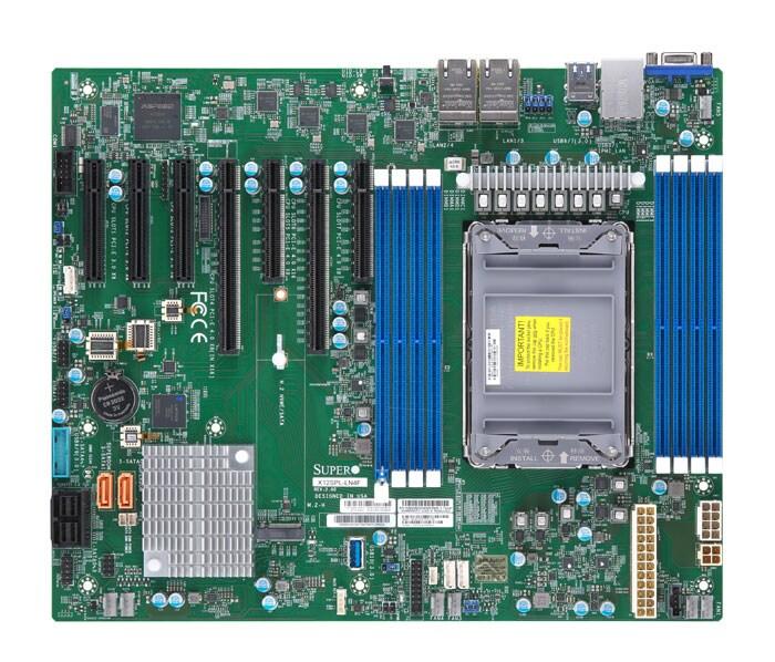 Supermicro Motherboard Xeon Boards X12SPL-LN4F