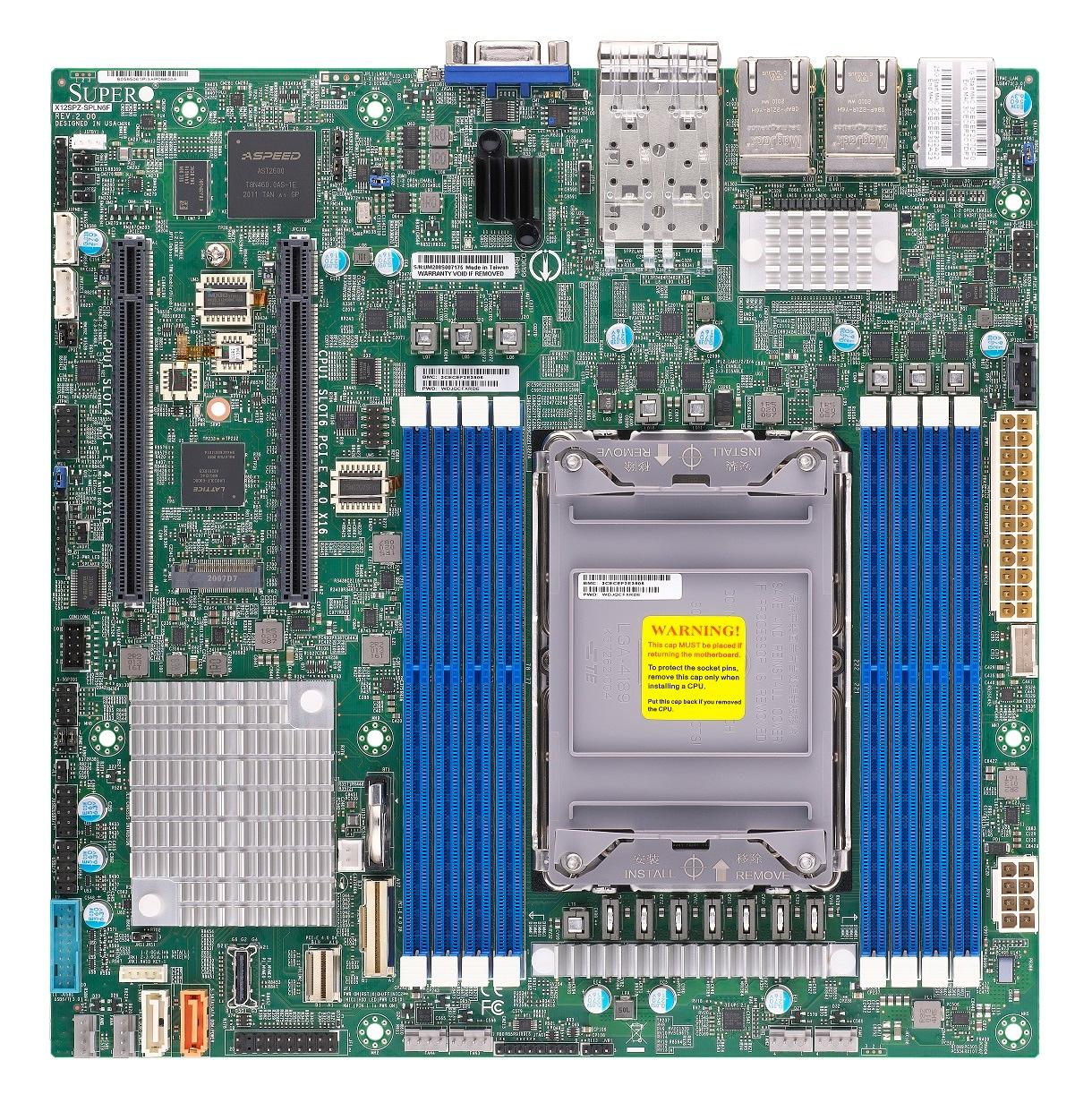 Supermicro Motherboard Xeon Boards X12SPZ-SPLN6F