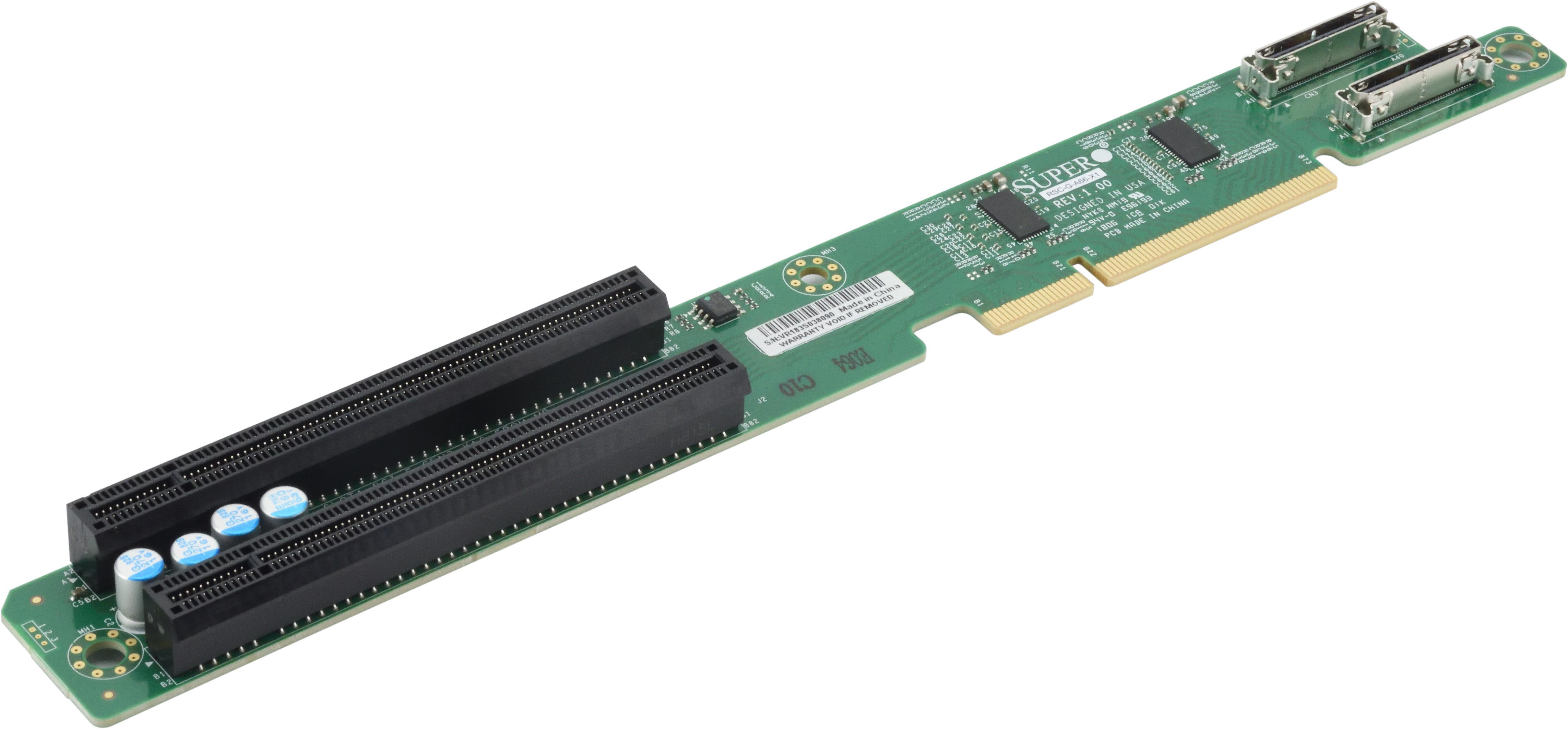 New SuperMicro Right PCI Riser Card RSC-BLG-E16R PCI-E 3.0x16