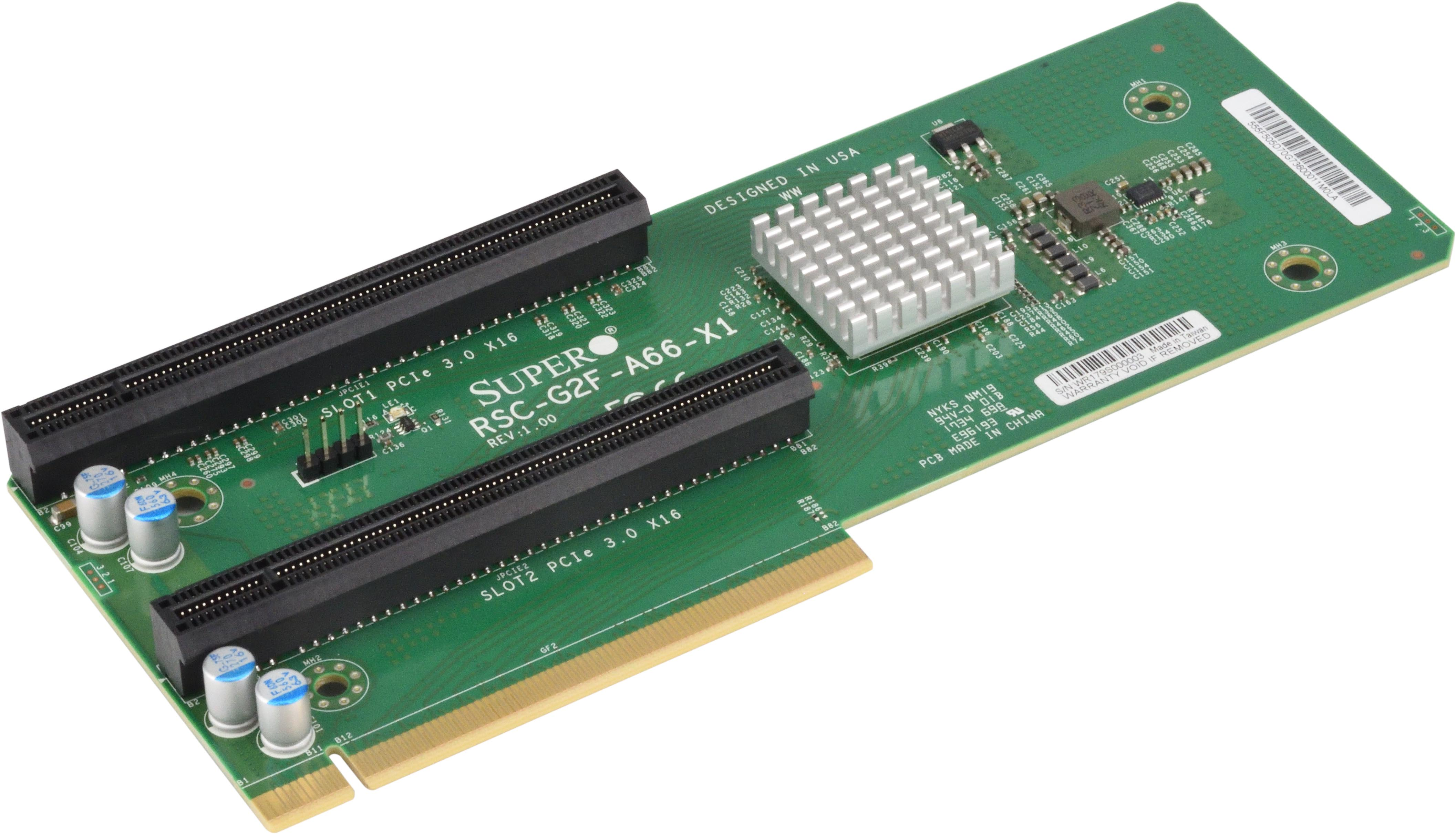 Riser Card | Support - Super Micro Computer, Inc