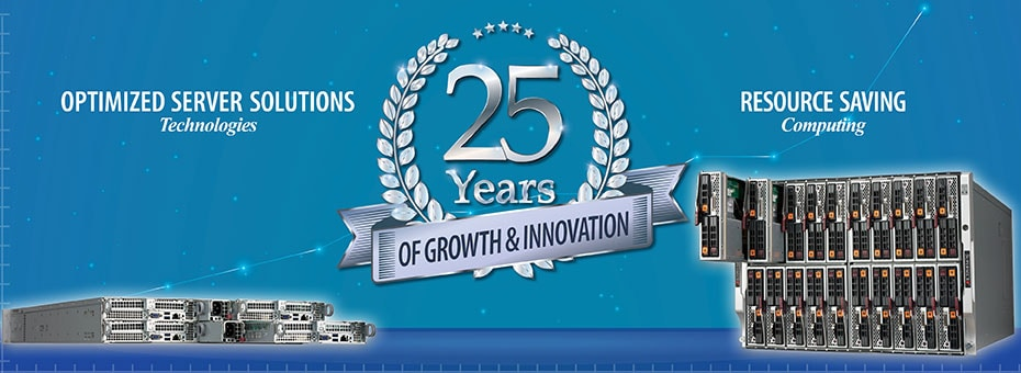 Supermicro 25th Anniversary