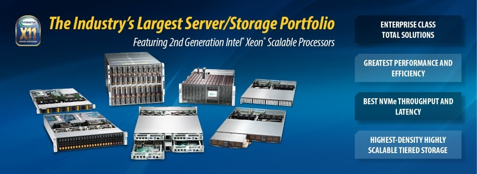 Supermicro X11 Solutions