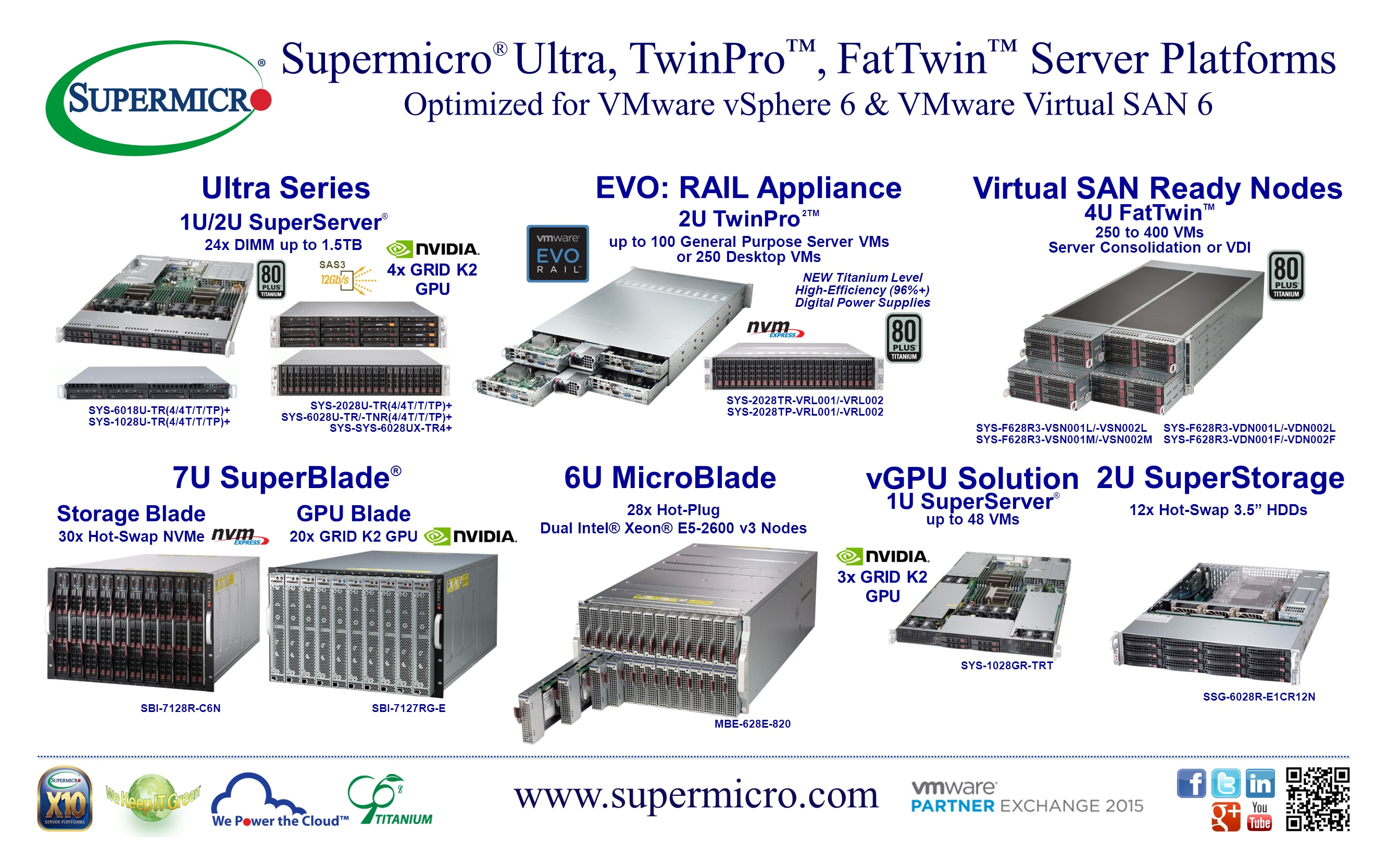 Supermicro | News | Supermicro® Highlights Ultra, TwinPro, and