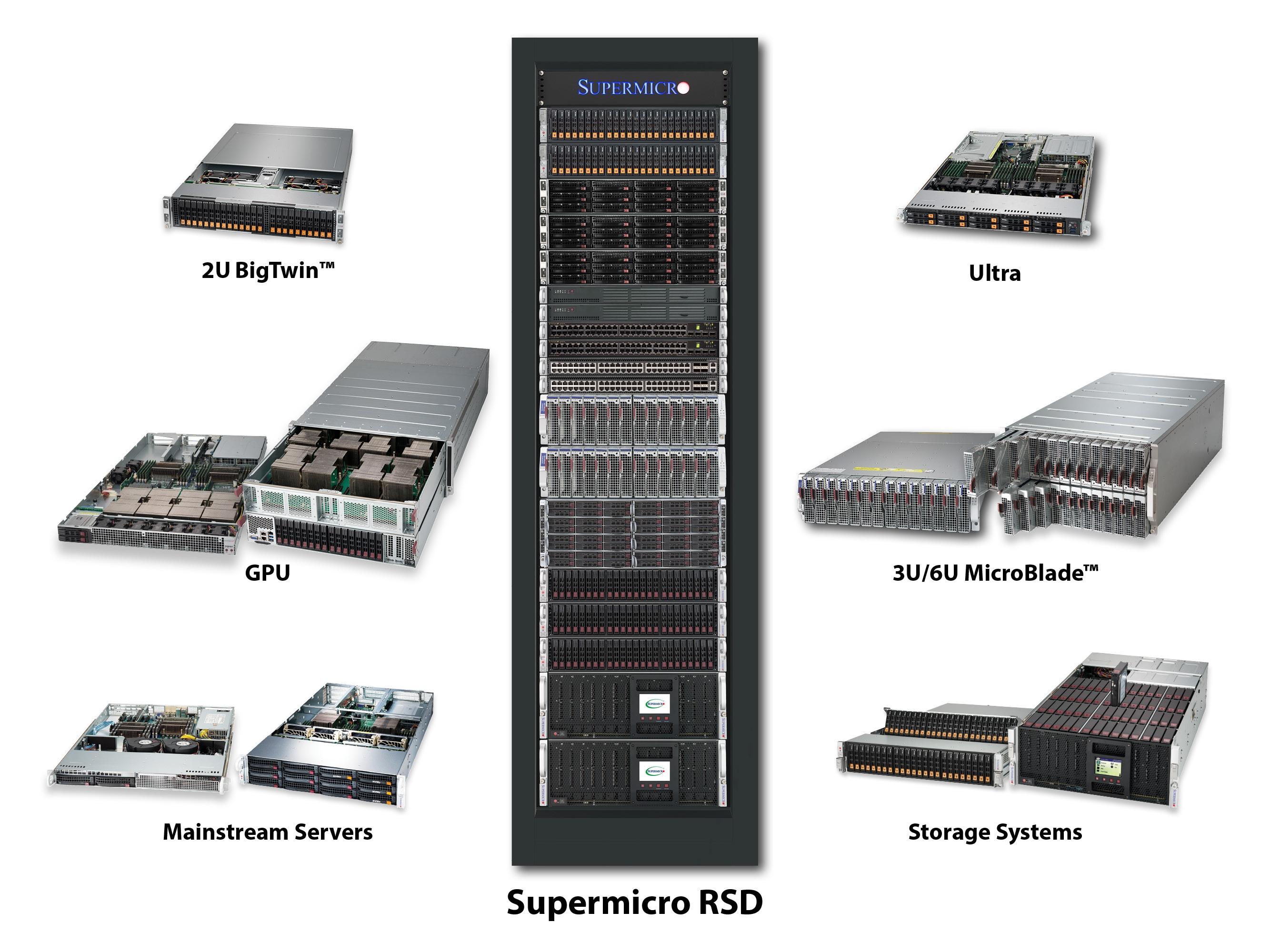 Supermicro | News | Supermicro Exhibits Latest IT Building