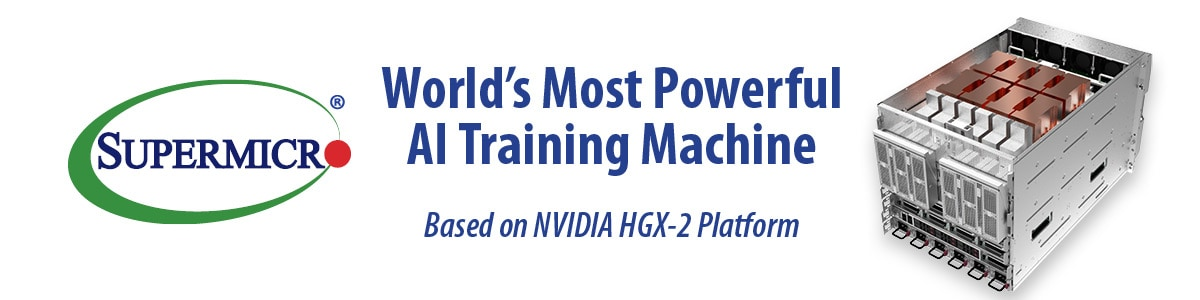 Supermicro New NVIDIA HGX-2 based SuperServer is World's