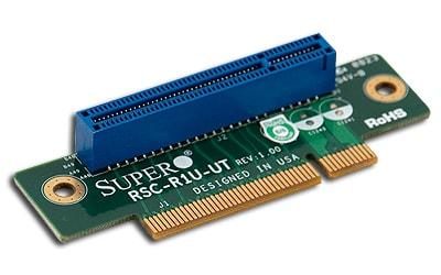Supermicro RSC-R1U-E8R 1U PCI-Express x8 to PCI-Express x8 Passive Riser Card