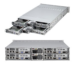Supermicro AMD Solution Aplus Server 2U AS-2022TC-BIBQRF