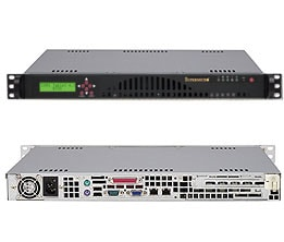 SC512L-260-LCD | 1U | Chassis | Products | Super Micro