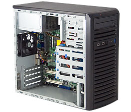 SC731i-300B | Mini-tower | Chassis | Products | Super Micro