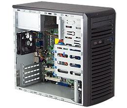 Корпус Supermicro CSE-835TQ-R800B 3U Black 8xHotSwap SAS / SATA E-ATX 800W HS  RM