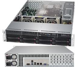2U Dual Socket Scalable Family Rackmount Server