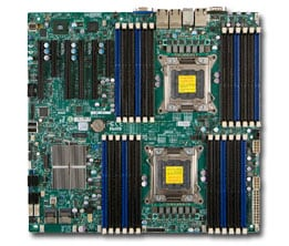 Supermicro motherboard X9DR3-LN4F+