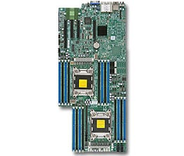 Supermicro motherboard X9DRFF-iT+