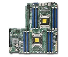 Supermicro motherboard X9DRW-iF