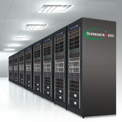 Supermicro RSD Rack, right side