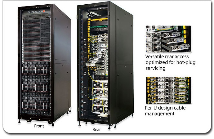 Supermicro Superrack 174 Solutions Products Super Micro