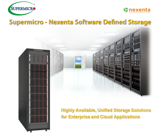 Supermicro and Nexenta Software-Defined Storage Solutions