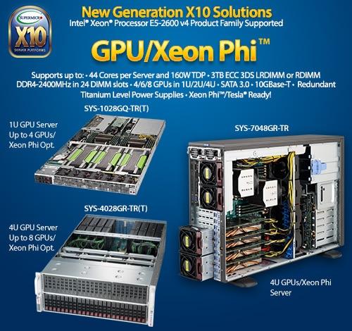 Supermicro New Server Solutions Supporting Intel® Xeon® Processor E5