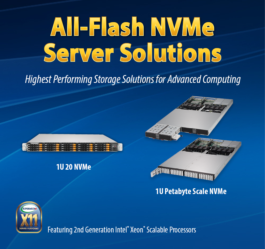 Supermicro® NVMe Platforms | SuperStorage Solutions | Products