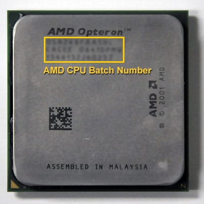 how to find cpu serial number