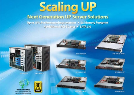 Supermicro Next Generation UP Server Solutions