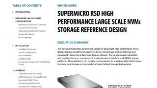 Supermicro Rack Scale Design (SRSD) Solutions | Super Micro