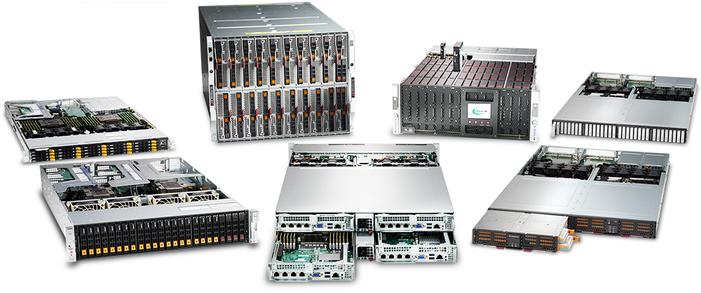 SuperServer product portfolio