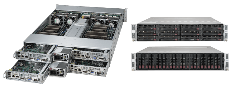 2U Twin² Solutions | Super Micro Computer, Inc