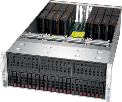 4U AMD MI25 GPU SuperServer® SYS-4029GP-TRT2